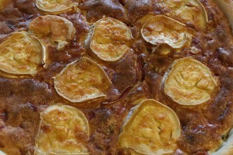 Tarte courgette, jambon & chèvre Thermomix par clove