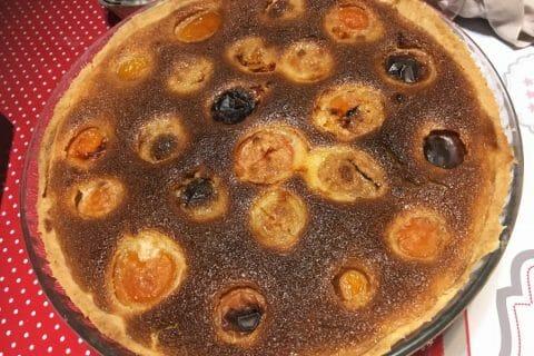Tarte amandine aux abricots Thermomix par clove