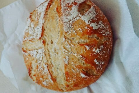 Miche de pain au Thermomix