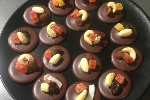Mendiants au chocolat Thermomix par Orely20137
