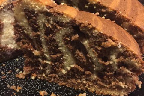 Gâteau zébré Thermomix par Orely20137