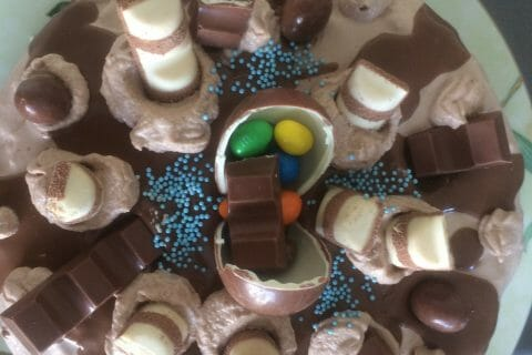 Layer cake Kinder Bueno au Thermomix