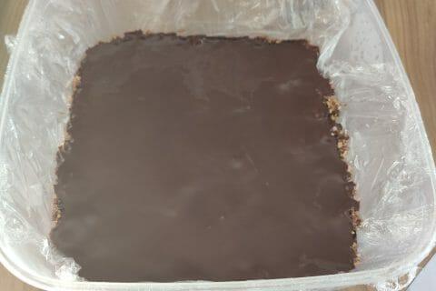 Barres de céréales à l'avoine, noisettes, banane et chocolat au Thermomix