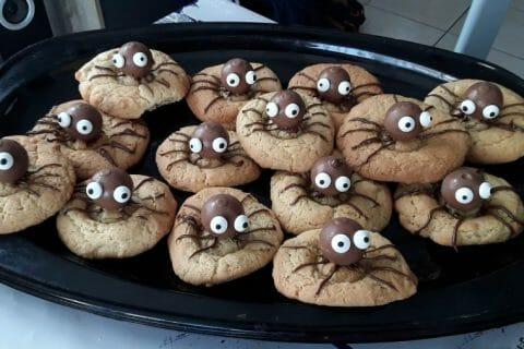 Spider cookies (cookies araignées) Thermomix par sojanko