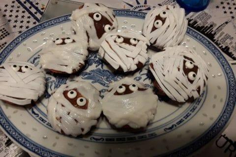 Cupcakes momie Thermomix par sojanko