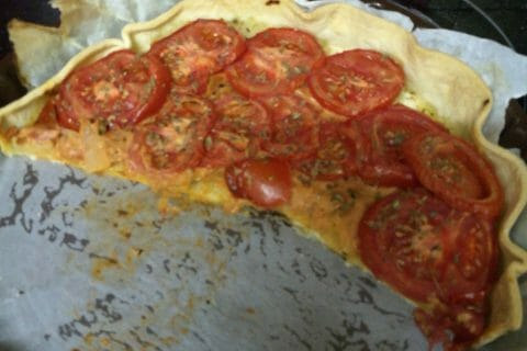 Tarte à la tomate au Thermomix