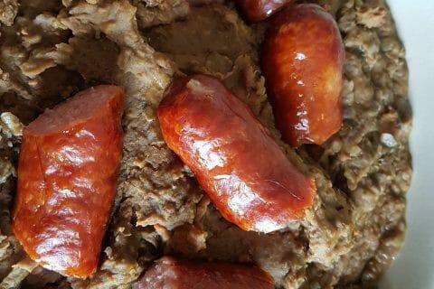 Lentilles et ses saucisses au Thermomix