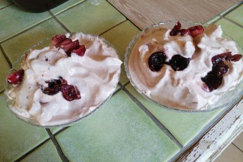 Mousse de fraises au Thermomix