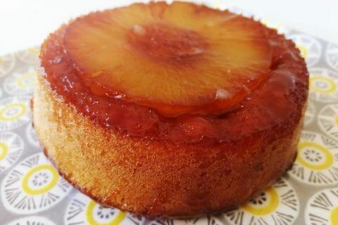 Gâteau renversé à l'ananas Thermomix par Finou