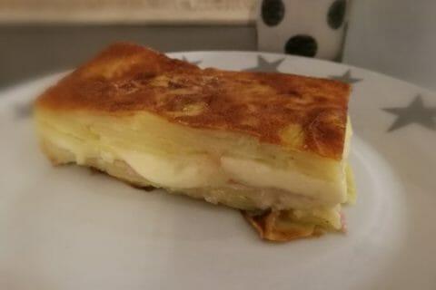 Gâteau invisible raclette Thermomix par Finou