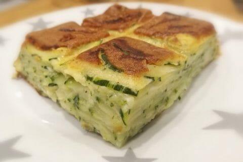 Gâteau invisible aux courgettes Thermomix par Finou
