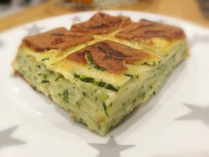 Gâteau Invisible Aux Courgettes Cookomix