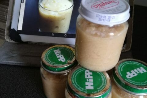 Compote de pommes, bananes et miel Thermomix par Eylie