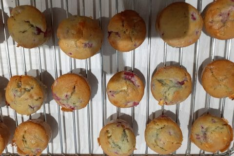Mini muffins aux fruits rouge au Thermomix