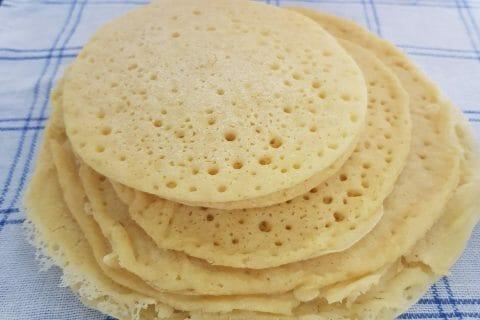 Baghrir – Crêpes mille trous au Thermomix