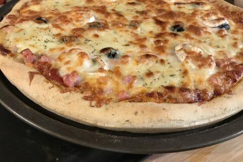 Pâte à pizza au Thermomix