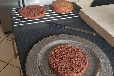 Layer cake Kinder Bueno au Thermomix