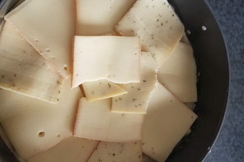 Gâteau invisible raclette au Thermomix