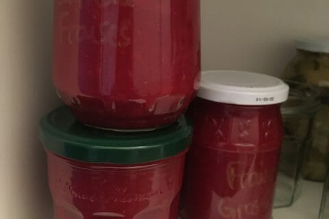 Confiture de fraises au Thermomix
