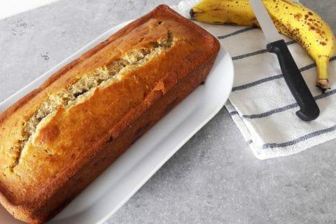 Cake banane et pépites de chocolat Thermomix par cloclo44