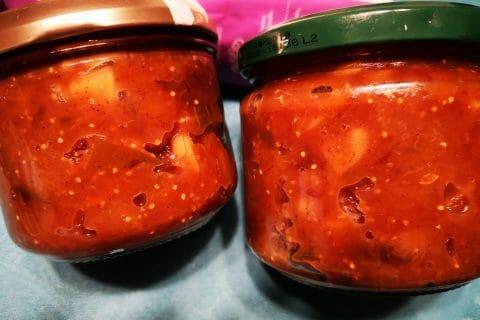 Chutney d'oignons rouges et figues au Thermomix