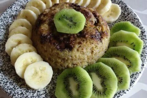 Bowl cake banane et pépites de chocolat Thermomix par rachel2010
