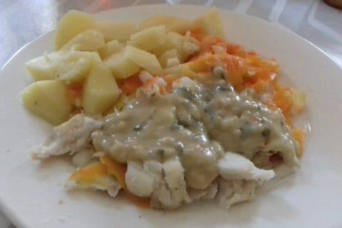 Filet de cabillaud et sa sauce persillée Thermomix par rachel2010