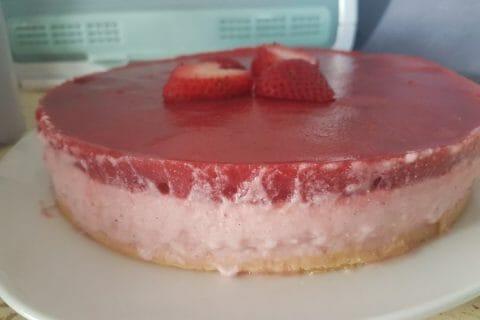 Bavarois aux fraises Thermomix par Jinja