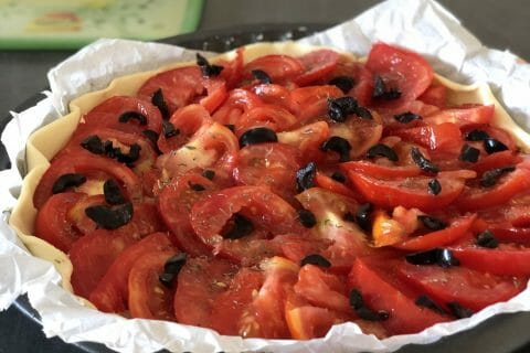 Tarte tomates et amandes au Thermomix