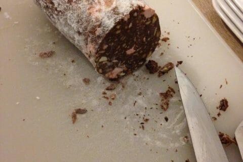 Saucisson au chocolat Thermomix par Angie47