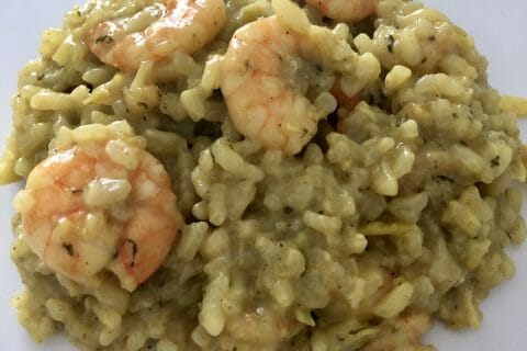 Risotto crevettes et curry au Thermomix
