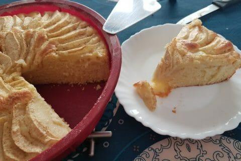 Gâteau aux pommes et mascarpone Thermomix par Annette