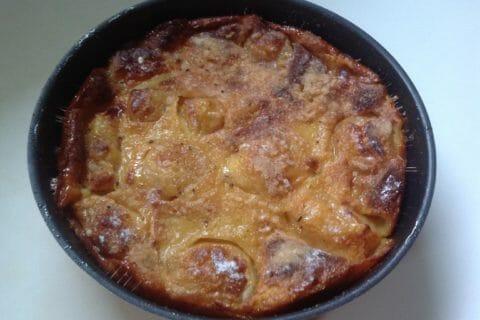 Flognarde aux pommes (clafoutis aux pommes) Thermomix par evega72