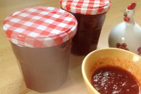 Confiture fraise rhubarbe au Thermomix