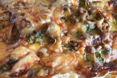 Tarte aux brocolis et roquefort Thermomix par noratanhoo