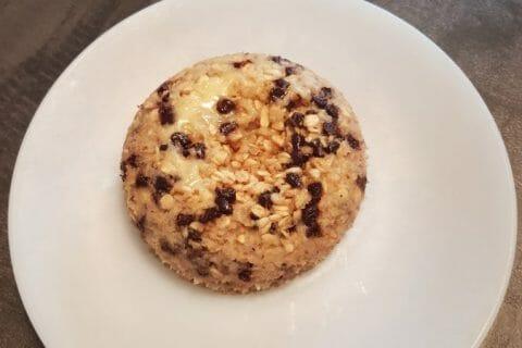 Bowl cake banane et pépites de chocolat Thermomix par JulieLudo