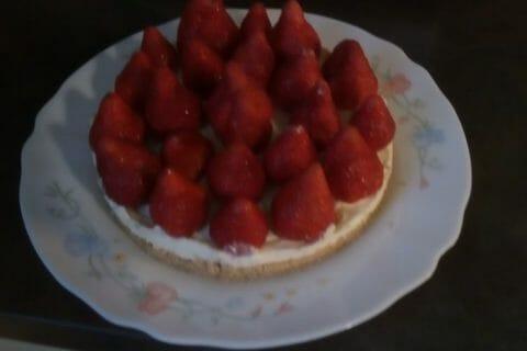 Tarte aux fraises sans cuisson Thermomix par capit21