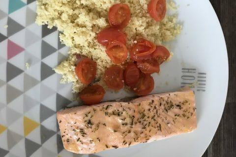 Pavé de saumon au Thermomix