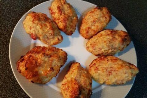 Croquettes de chou-fleur au jambon cru Thermomix par Wikette