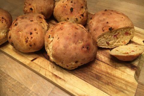 Petits pains au chorizo Thermomix par Christellerag