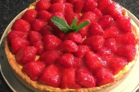 Tarte aux fraises Thermomix par Christellerag