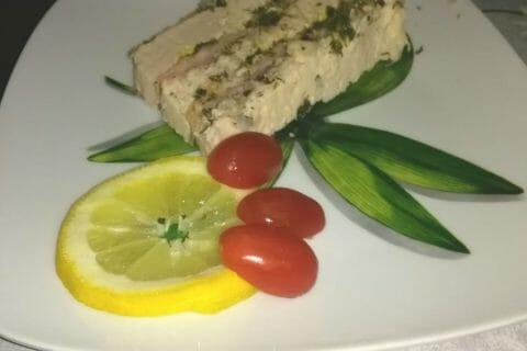 Terrine de saumon frais et fumé Thermomix par Nanouchkachette