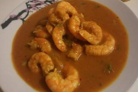 Curry de crevettes au lait de coco Thermomix par Didieyass