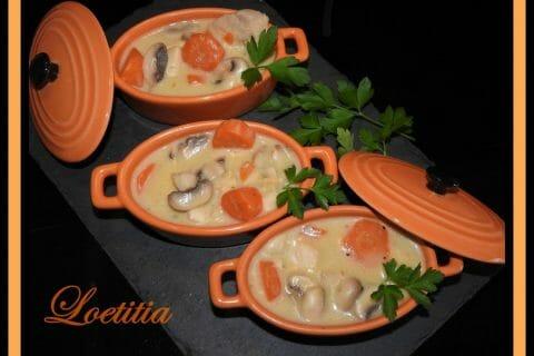 Blanquette de poulet Thermomix par Loetitia