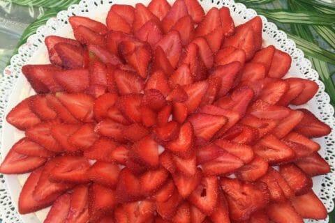 Tarte aux fraises sans cuisson Thermomix par Stephmatlily
