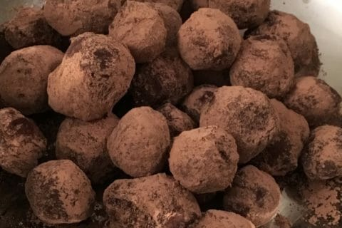 Truffes au chocolat Thermomix par Helene85140