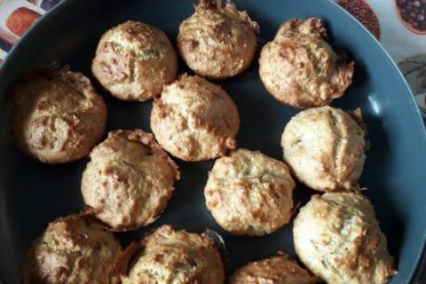 Muffins au son d'avoine et aux pépites de chocolat Thermomix par Effie
