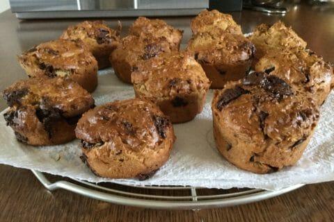 Muffins au son d'avoine et aux pépites de chocolat Thermomix par Maryxmas29