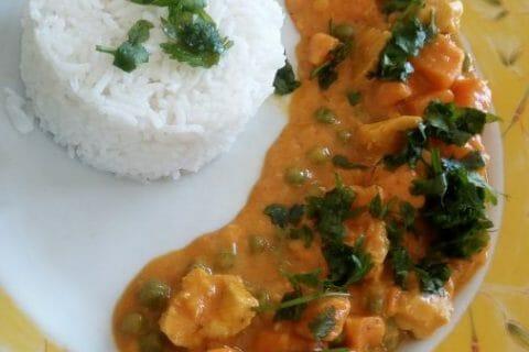 Curry de poulet aux patates douces Thermomix par ninie2004