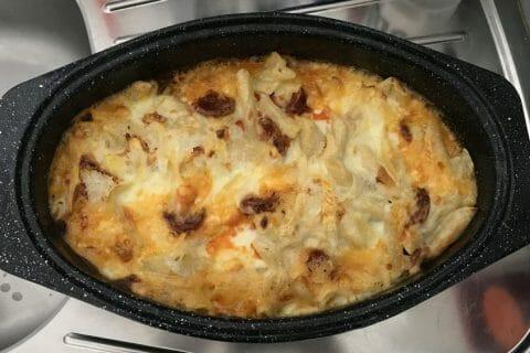 Gratin de macaroni reblochon et chorizo Thermomix par Carikill